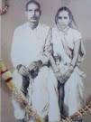 पूज्यनीय दादा स्वर्गीय श्री सत्यनारायण शुक्ल और दादी स्वर्गीय श्रीमती सरयू देवी