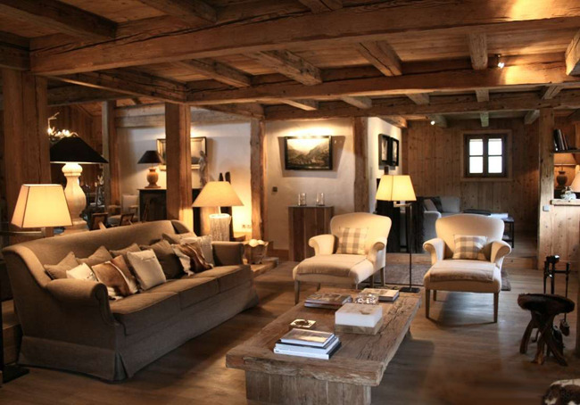 first house on the right ski chalet chic. Black Bedroom Furniture Sets. Home Design Ideas