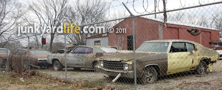 Chevelle junkyard pics - Page 2 - Chevelle Tech