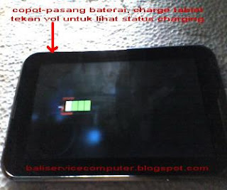 imo tab x tablet tidak mau nyala on mati