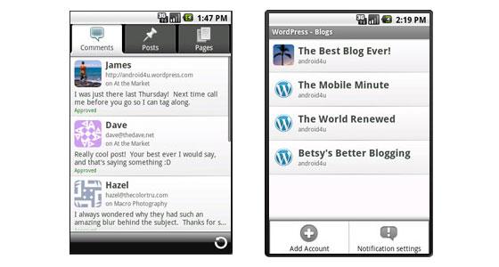 Descargar WordPress para Android