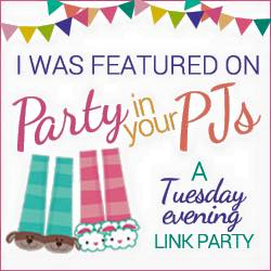 Party in Your PJs! - I Was Featured!