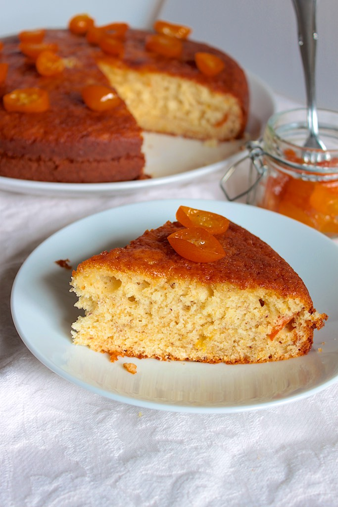 kumquat en almivar pastis de yogur
