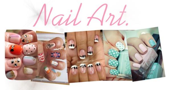 Nail Art Inspiration Sunday Morning Notes