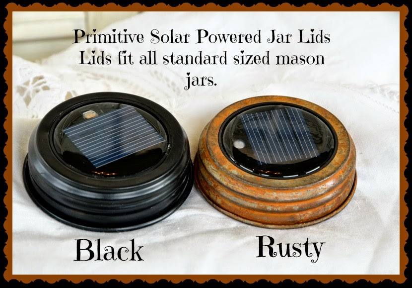Solar Jar Lids!
