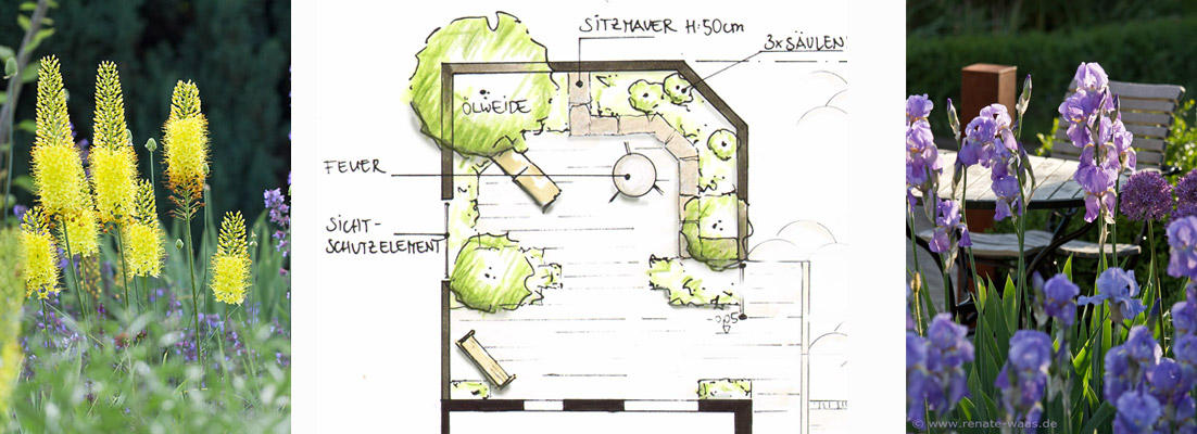 Gartenblog zu Gartenplanung, Gartendesign und Gartengestaltung: Mediterraner Garten