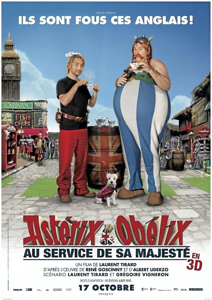 Astérix et Obélix 4 : au service de Sa Majesté streaming vf