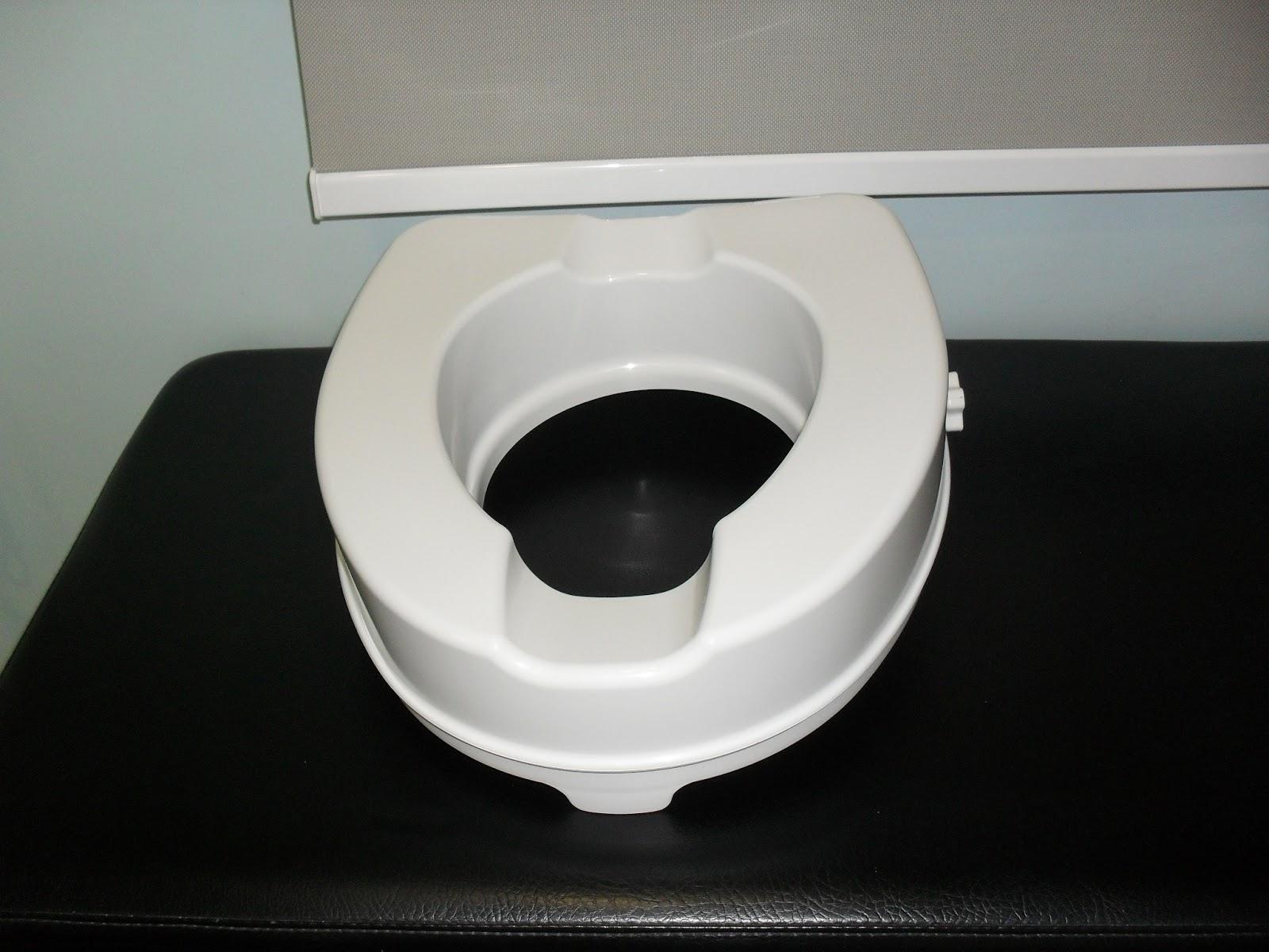 Elevador de wc de 10 cm de altura sin tapa ortopedia for Elevador taza wc