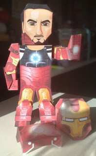 The Avengers, Iron Man Papercraft