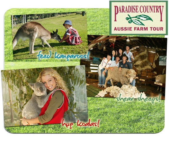 aussie paradise country farm