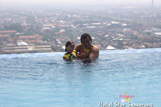 kolam renang hotel star semarang jateng