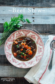 Beef Stew (AIP, Paleo, Low FODMAP, Whole 30)