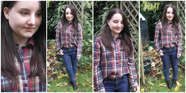 *Front Row Shop: Plaid Shirt