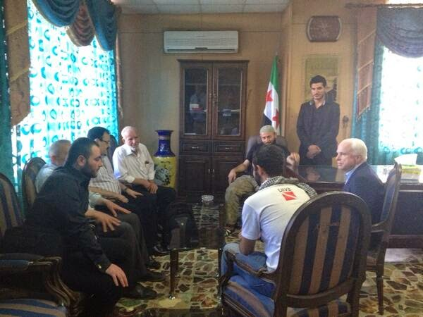John McCain Giving Instructions to ISIS