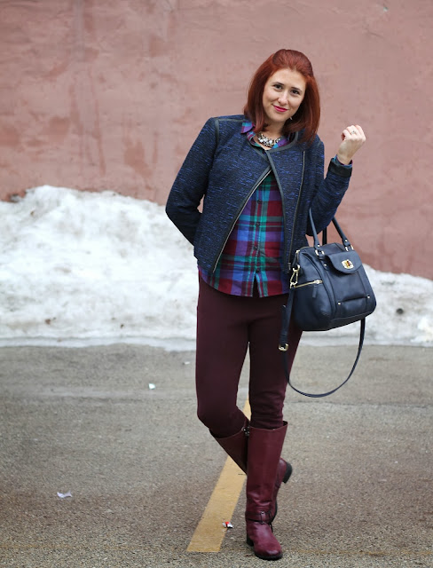 j, crew, plaid, target, tweed, jacket