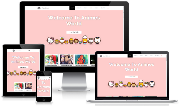 Anime Blogger Template