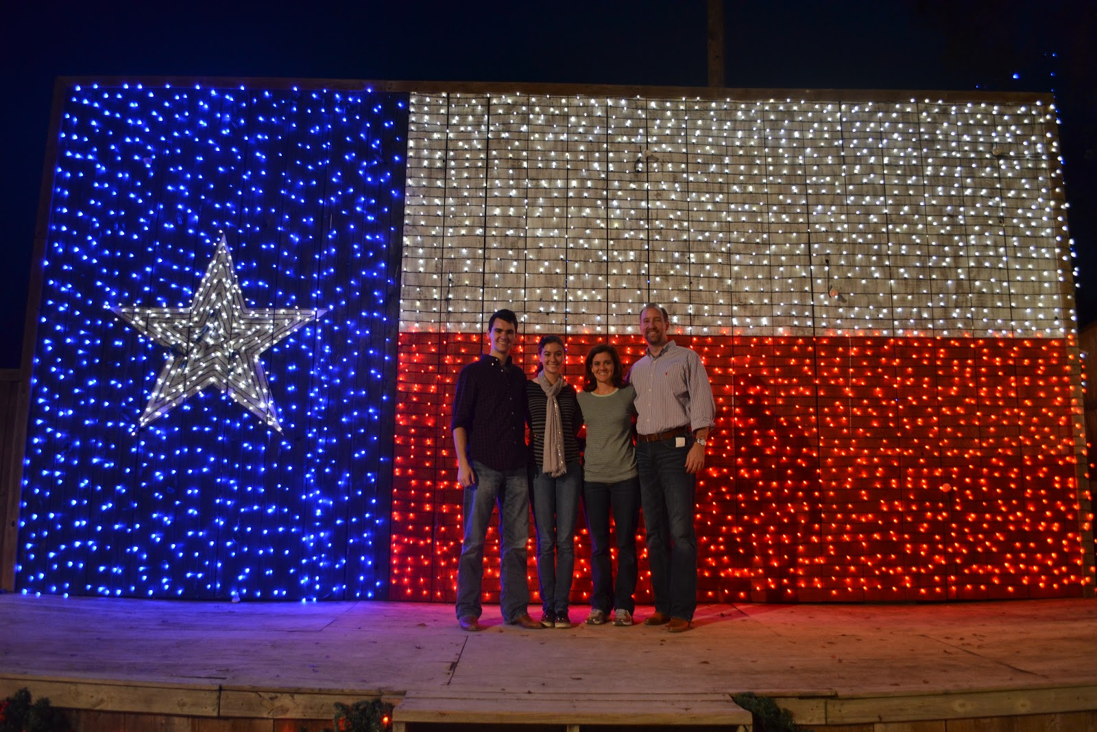 my family went to the cutest little christmas light village in college station a couple weeks ago the hay ride through the lights was amazing - Christmas Lights College Station