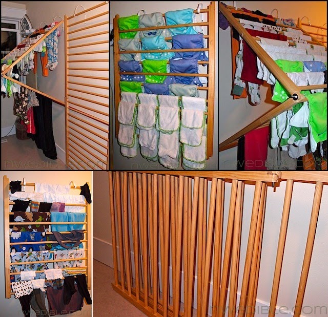 wall mounted clothes drying rack diy project   handy diy