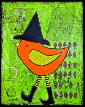 Lisa Meyer - Halloween Bird