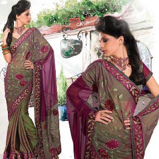 Polyester Sari