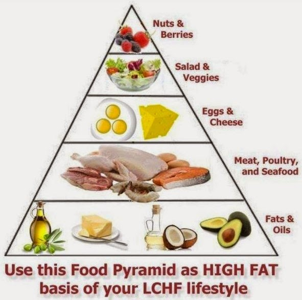 The Low Carb Diabetic The Low Carb High Fat Food Pyramid For Safe