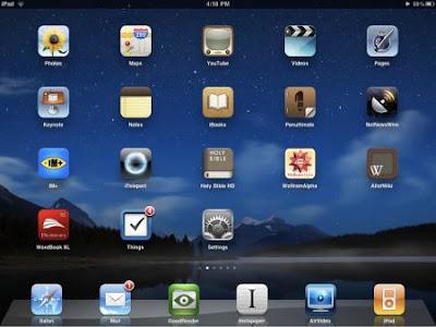 Setting Enable Caps Lock on iPad