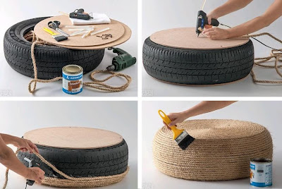 Coolest Furniture Ideas from Reused Materials (100) 15