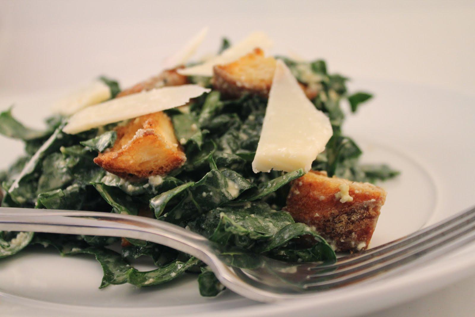 Simply Scrumptious: Kale Caesar Salad