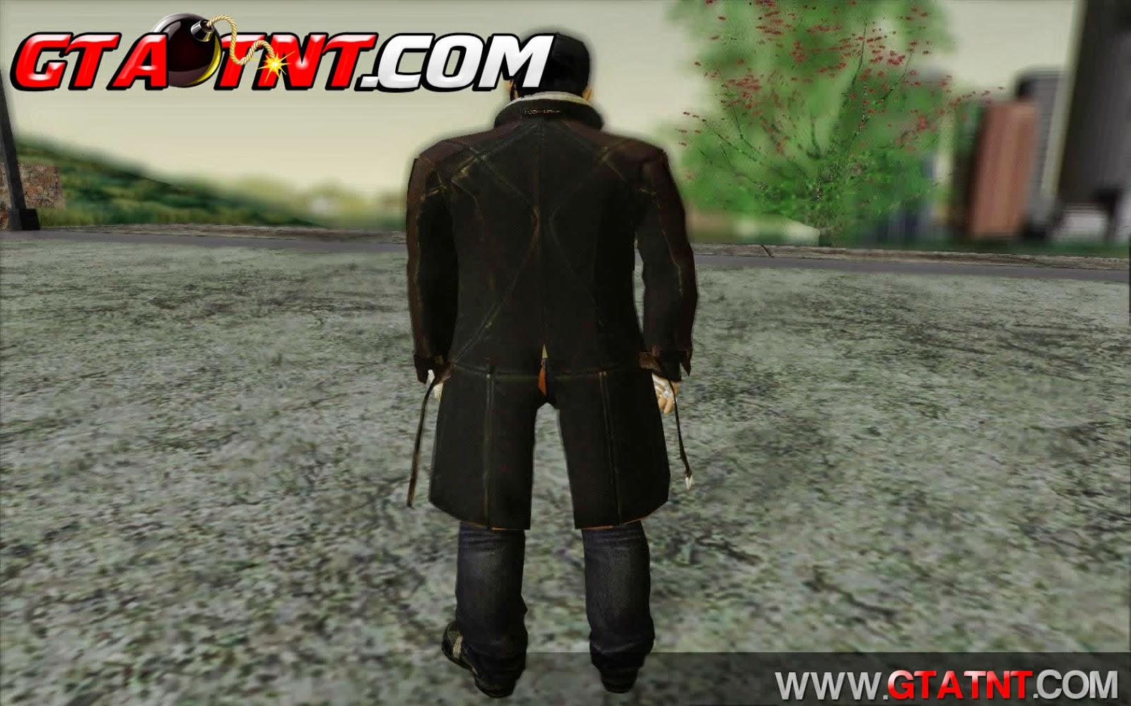 Skin do Aiden Pearce Watch Dogs para GTA San Andreas