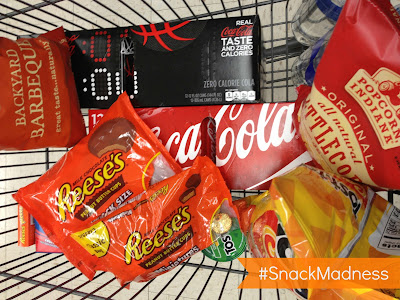 Coke Zero and Reese's at Walgreens #SnackMadness