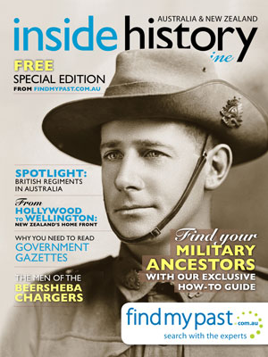 FREE findmypast Anzac edition