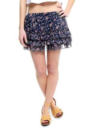 modelo de ropa para jovenes faldas floreadas