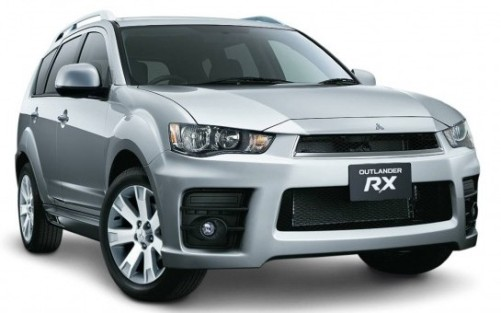 Mitsubishi Outlander Car Desktop Photo