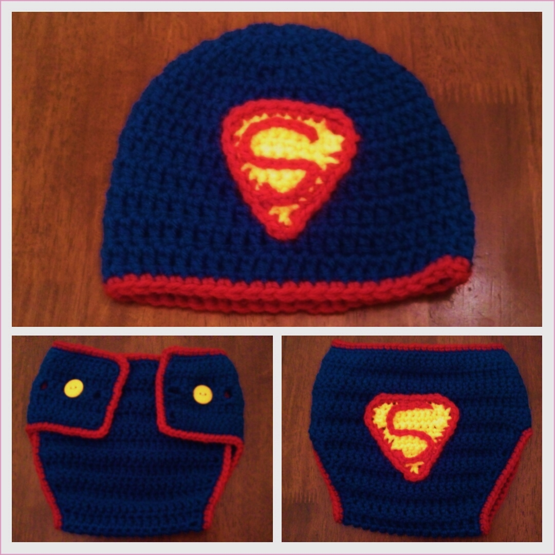 Butterflys Creations: Superman Beanies