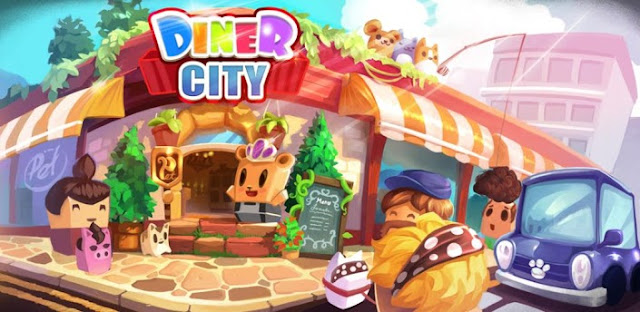 Diner City v1.1.11 Mod (Free Shopping) Apk