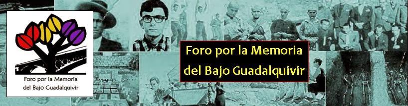 Foro por la Memoria del Bajo Guadalquivir