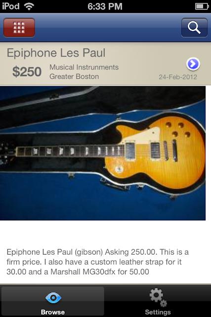 guitar classifieds