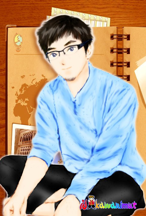 Gambar Kartun Lelaki Muslim