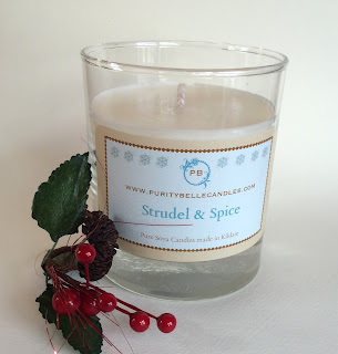 Strudel & Spice Soy Jar Candle by Purity Belle Candles
