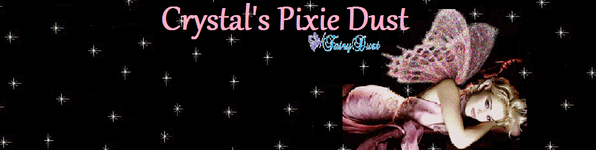 Crystal&#39;s Pixie Dust