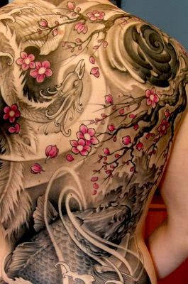 ♥ ♫ ♥ Gorgeous Girl Back Tattoo. love it.!  ♥ ♫ ♥