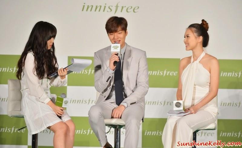 Lee Min Ho, Innifree Festa 2015 Malaysia, Play Green, Green Campaign