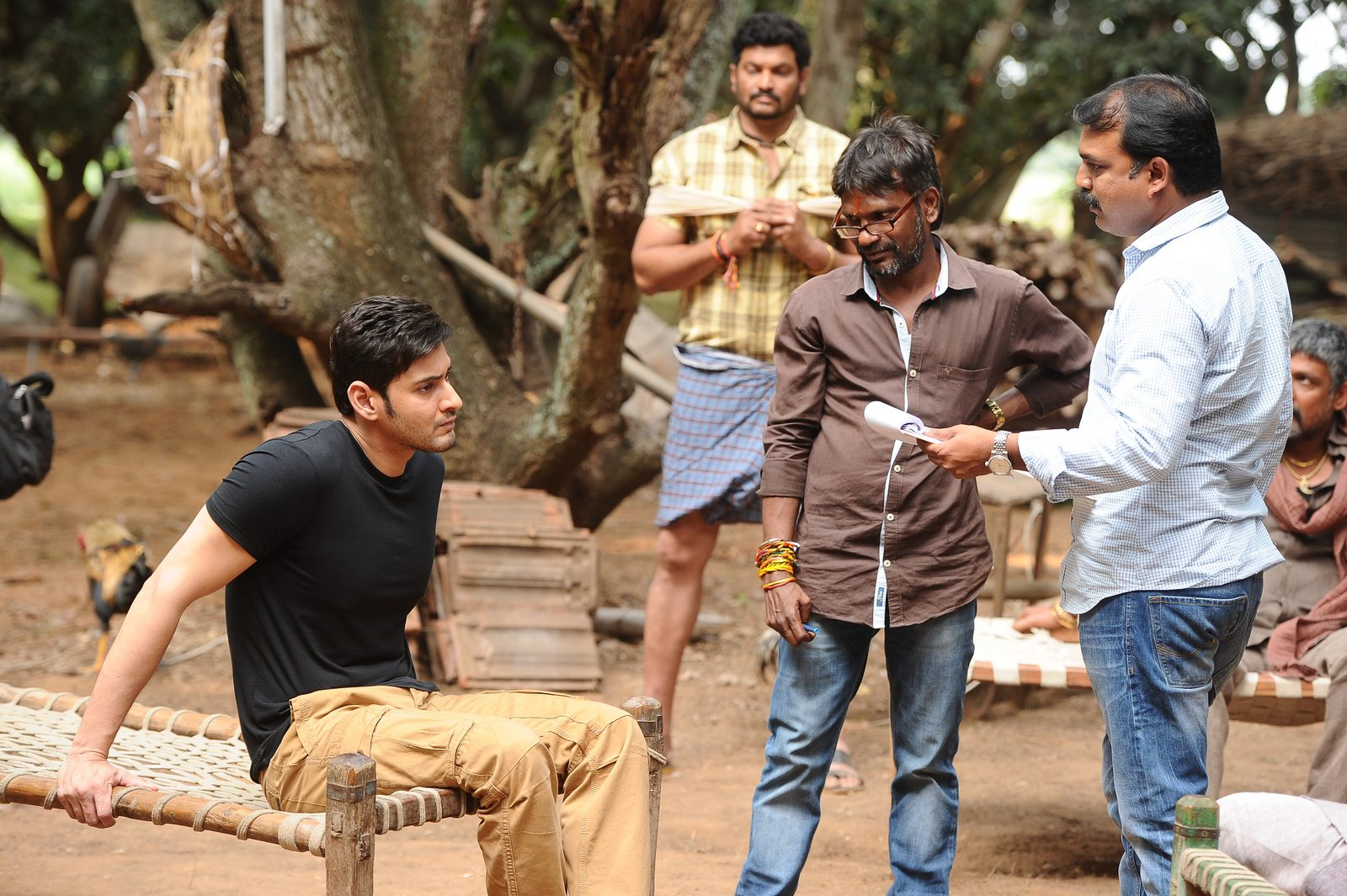 Srimanthudu New HD Working Stills | Mahesh Babu | Sruthi Hassan