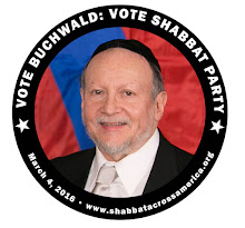 Vote Rabbi Buchwald