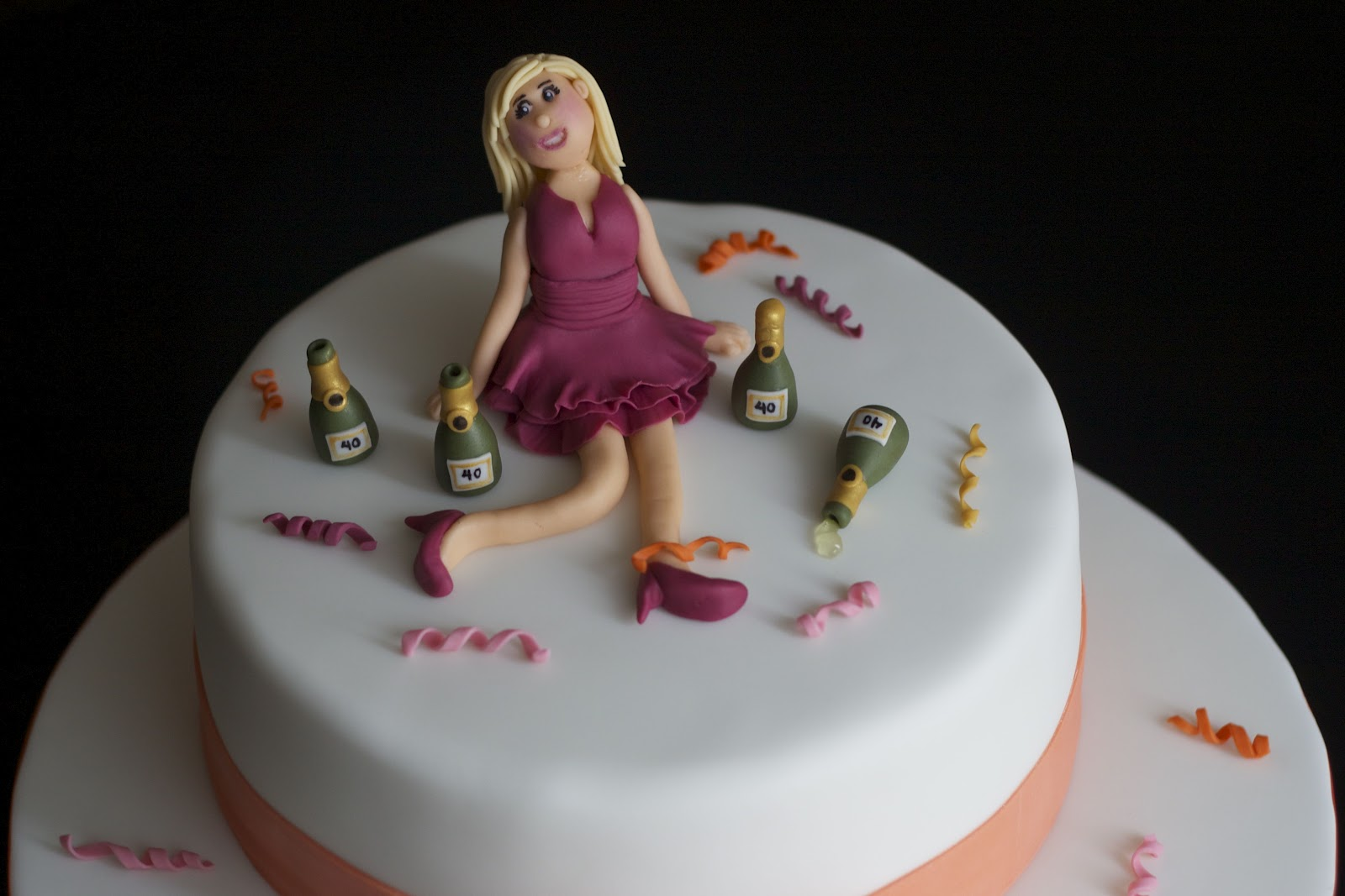 SweetD Cakes Party Girl Birthday Cake