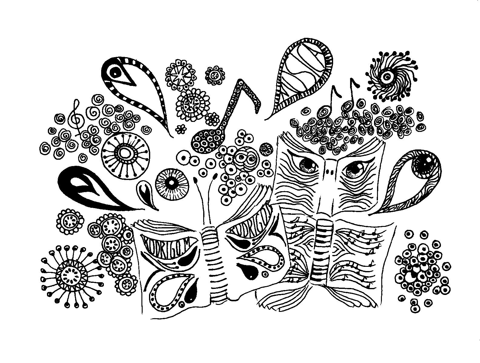 Dibujos Abstractos Para Pintar Cuadros. Dibujar Arte Abstracto. Este ...