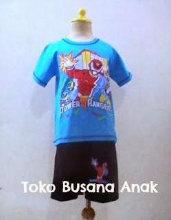 Toko Busana anak, Baju kartun power rangger