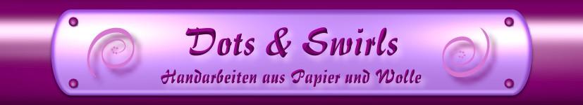 Dots & Swirls - Handarbeiten aus Papier und Wolle