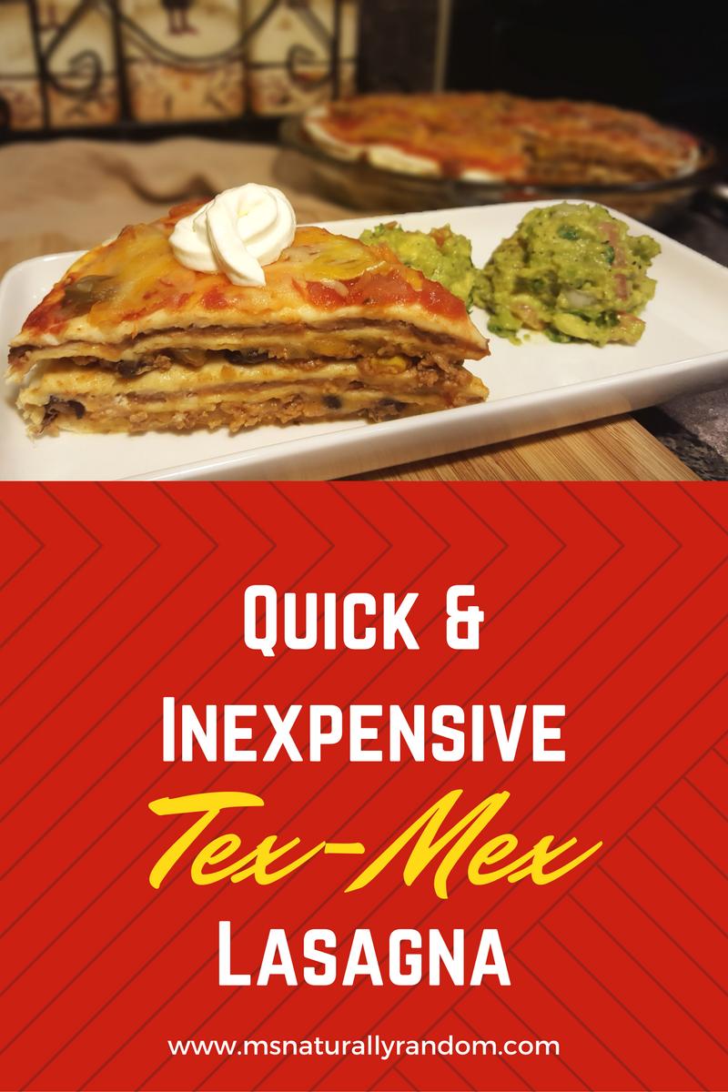 Recipe | Tex-Mex Lasagna