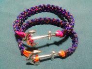 Pulseiras com cabo de 2mm